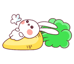 Ultra-small rabbit! sticker #10191212