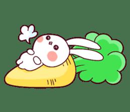 Ultra-small rabbit! sticker #10191212