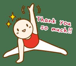 Mr.Gymnast-2(English) sticker #10202592