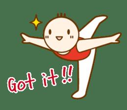 Mr.Gymnast-2(English) sticker #10202595