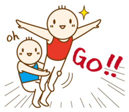 Mr.Gymnast-2(English) sticker #10202599