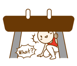Mr.Gymnast-2(English) sticker #10202600