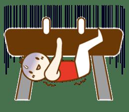 Mr.Gymnast-2(English) sticker #10202601