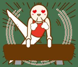 Mr.Gymnast-2(English) sticker #10202602