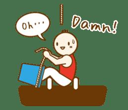 Mr.Gymnast-2(English) sticker #10202603