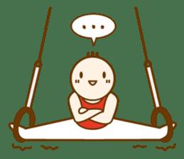 Mr.Gymnast-2(English) sticker #10202604