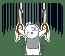 Mr.Gymnast-2(English) sticker #10202605