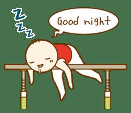 Mr.Gymnast-2(English) sticker #10202619