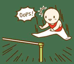 Mr.Gymnast-2(English) sticker #10202621