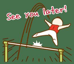 Mr.Gymnast-2(English) sticker #10202622