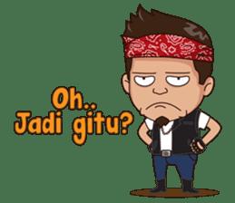 Ali Badai : Anak Jalanan sticker #10203594