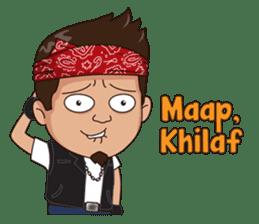 Ali Badai : Anak Jalanan sticker #10203595