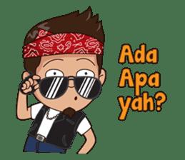 Ali Badai : Anak Jalanan sticker #10203597