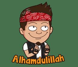 Ali Badai : Anak Jalanan sticker #10203599