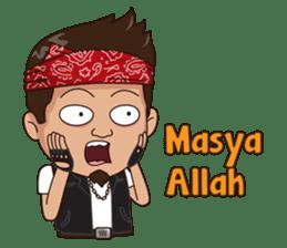 Ali Badai : Anak Jalanan sticker #10203600