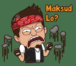 Ali Badai : Anak Jalanan sticker #10203601
