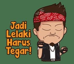 Ali Badai : Anak Jalanan sticker #10203606