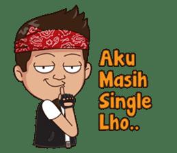 Ali Badai : Anak Jalanan sticker #10203607