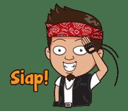 Ali Badai : Anak Jalanan sticker #10203609