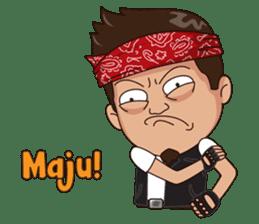 Ali Badai : Anak Jalanan sticker #10203610