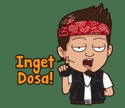 Ali Badai : Anak Jalanan sticker #10203611
