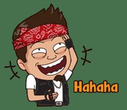 Ali Badai : Anak Jalanan sticker #10203612