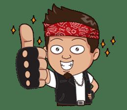 Ali Badai : Anak Jalanan sticker #10203616