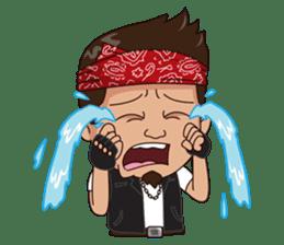 Ali Badai : Anak Jalanan sticker #10203619