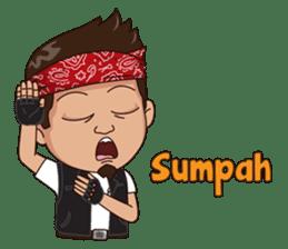 Ali Badai : Anak Jalanan sticker #10203620