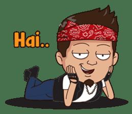 Ali Badai : Anak Jalanan sticker #10203623
