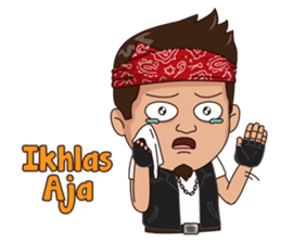 Ali Badai : Anak Jalanan sticker #10203626