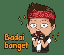 Ali Badai : Anak Jalanan sticker #10203629