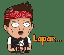 Ali Badai : Anak Jalanan sticker #10203630