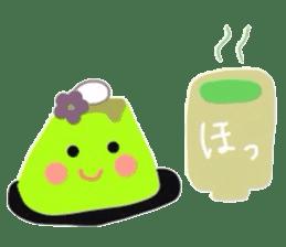 cute flan sticker sticker #10204826