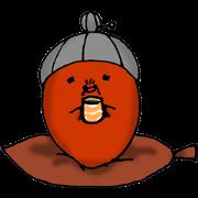 สติ๊กเกอร์ไลน์ Polite nod of acorn Obaa