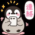 ほのぼの子ペンギン連絡用 | LINE STORE