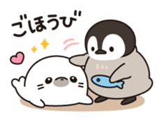 healing penguin to contact sticker #10207065