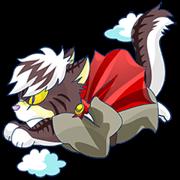 สติ๊กเกอร์ไลน์ <Father cat Max>
