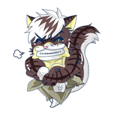 <Father cat Max> sticker #10209959