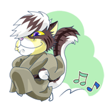 <Father cat Max> sticker #10209964
