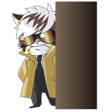 <Father cat Max> sticker #10209983