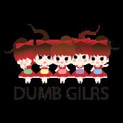 สติ๊กเกอร์ไลน์ DUMB GIRLS