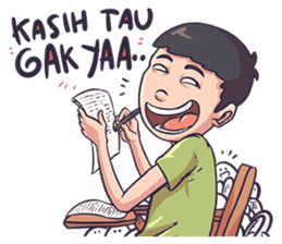 Mahasiswa sticker #10214713
