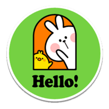 "Spoiled Rabbit ""Stickers"" sticker #10214832"