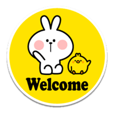 "Spoiled Rabbit ""Stickers"" sticker #10214833"