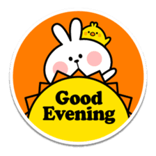 "Spoiled Rabbit ""Stickers"" sticker #10214835"