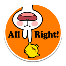 "Spoiled Rabbit ""Stickers"" sticker #10214839"