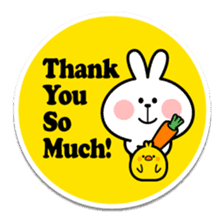 "Spoiled Rabbit ""Stickers"" sticker #10214841"