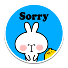 "Spoiled Rabbit ""Stickers"" sticker #10214842"