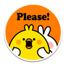 "Spoiled Rabbit ""Stickers"" sticker #10214843"